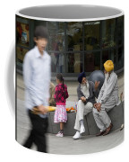 Passing Conversation Coffee Mug