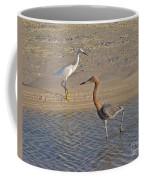 Passing Egrets Coffee Mug
