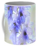 Passion For Flowers. Blue Dreams Coffee Mug by Jenny Rainbow