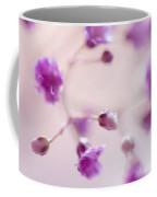 Passion For Flowers. Purple Pearls Of Gypsophila Coffee Mug