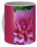 Pastel Pink Dahlia Coffee Mug