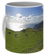 Pastoral Landscape Of Santa Maria Island Coffee Mug