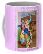 Patchwork Elephant Coffee Mug