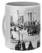 Patent Office During Presidential Inauguration - Washington Dc - C 1889 Coffee Mug