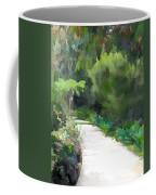 Path Into The Green Coffee Mug