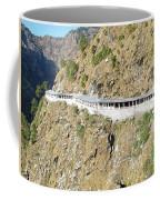 Path Leading To The Shrine Of Vaishno Devi Coffee Mug