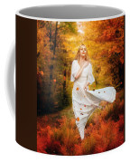 Path Of Fall Coffee Mug by Karen Koski