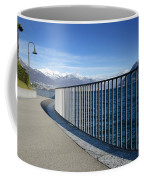Path On An Alpine Lakefront Coffee Mug