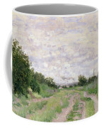 Path Through The Vines At Argenteuil Coffee Mug
