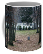 Patio View Of An Autumn Day Coffee Mug