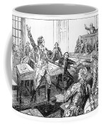 Patrick Henry, Virginia Legislature Coffee Mug by Photo Researchers