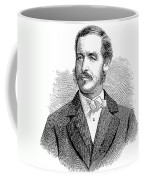 Patrick Sarsfield Gilmore (1829-1892). American (irish-born) Bandmaster And Composer. Wood Engraving, American, 1869 Coffee Mug