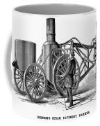 Paving Machine, 1879 Coffee Mug