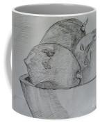 Paw-paw In Wooden Bowl Coffee Mug
