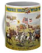 Pawnee Bill Poster, 1895 Coffee Mug