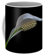 Peace Lily Flower Coffee Mug