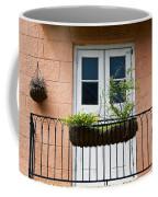 Peach Balcony Coffee Mug