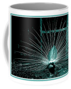 Peacock Blues Tail Coffee Mug