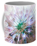 Peacock Dandelion - Macro Photography Coffee Mug