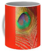 Peacock Feather 2 Coffee Mug