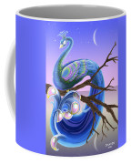 Peacock Moon Coffee Mug