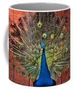 Peacock Tails Coffee Mug