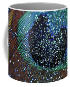Peacock With Bling Coffee Mug
