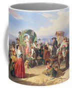 Peasants Of The Campagna Coffee Mug