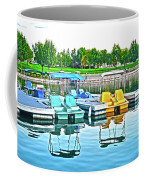 Pedal Boats Coffee Mug