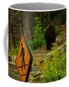 Pedestrian Crossing My Big Bear Booty Coffee Mug