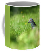 Peek-a-boo Pigeon Coffee Mug