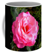 Peek-a-boo Rose Square Coffee Mug