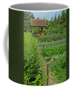 Peeking Into A Garden Coffee Mug