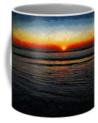 Peeking Over The Horizon Coffee Mug