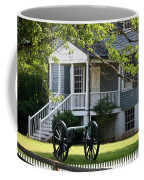 Peers House And Cannon Appomattox Court House Virginia Coffee Mug