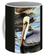 Pelican Pete Coffee Mug by Karen Wiles