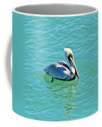 Pelican Portrait Coffee Mug
