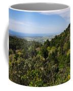Pena Palace Panorama Coffee Mug by Carlos Caetano