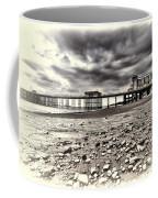 Penarth Pier Cream Coffee Mug