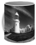 Pendeen Lighthouse Mono Coffee Mug