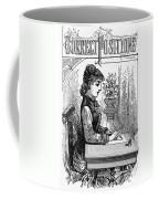 Penmanship Manual, C1880 Coffee Mug