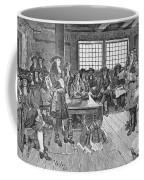 Penn And Colonists, 1682 Coffee Mug