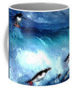 Penquin Play Coffee Mug