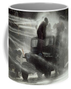 People Are Sprayed At The Water Coffee Mug by James L. Stanfield