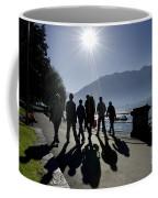People Walking Coffee Mug