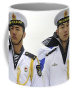 Peoples Liberation Army Navy Sailors Coffee Mug by Stocktrek Images