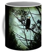 Perched Raptor  Coffee Mug