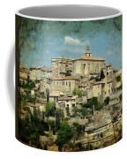 Perched Village Of Gordes Coffee Mug