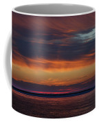 Perdido Pass Red Sunrise Coffee Mug