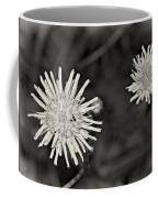 Perennial Sow-thistle Monochrome Coffee Mug